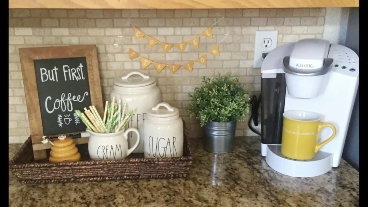 Coffee Station Ideas Home