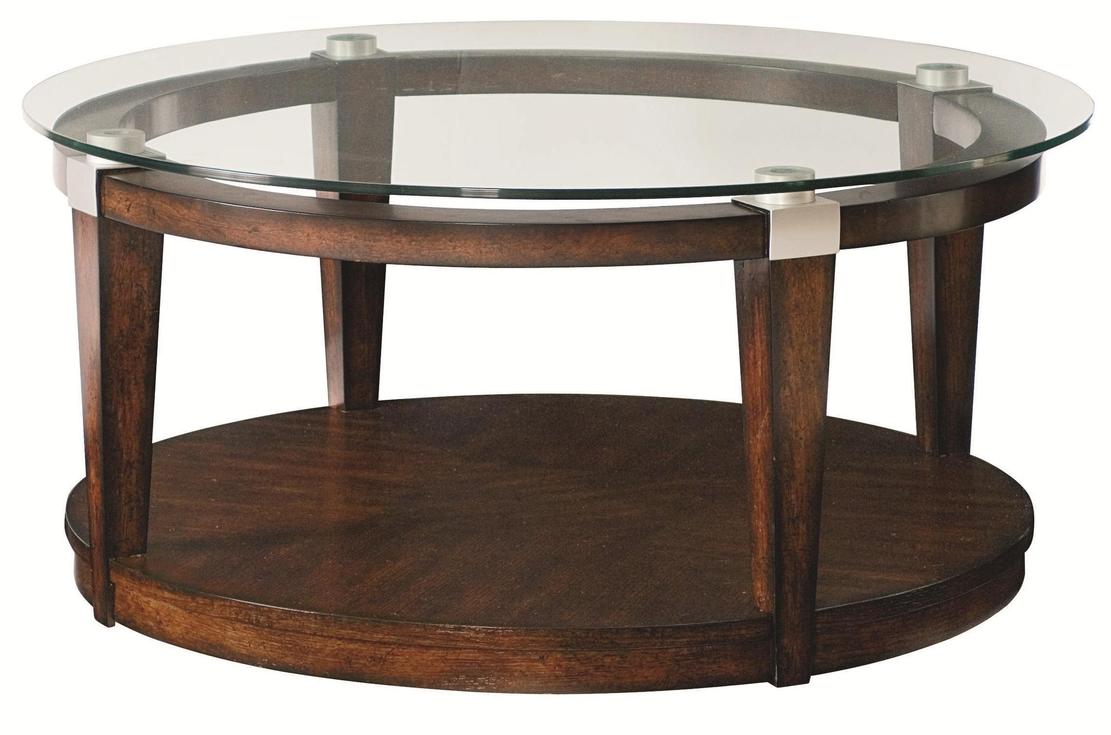 Coffee Table Awesome Round Glass Top Ideas