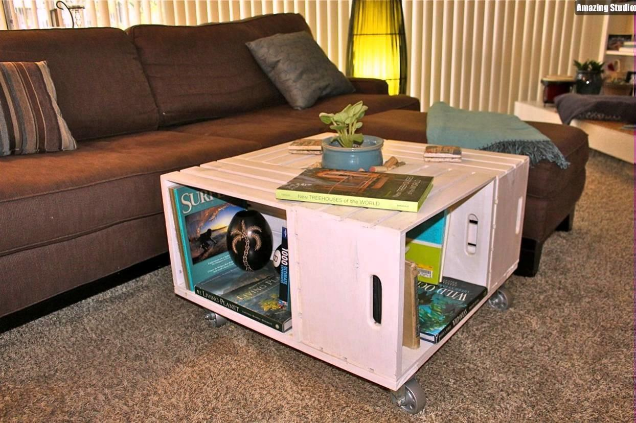 Coffee Table Awesome Unique Wine Crate