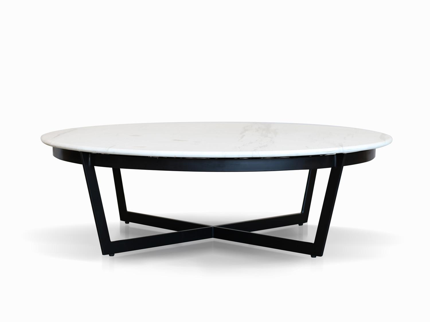 Coffee Table Captivating White Marble