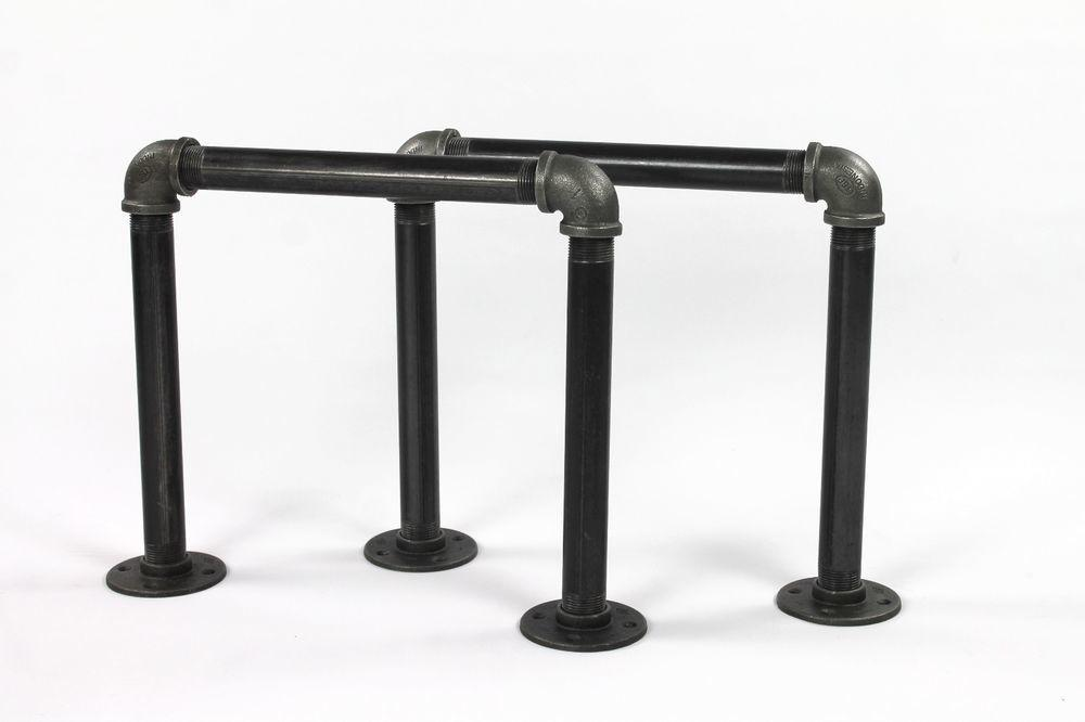 Coffee Table Diy Metal Legs Pipe Fittings Industrial