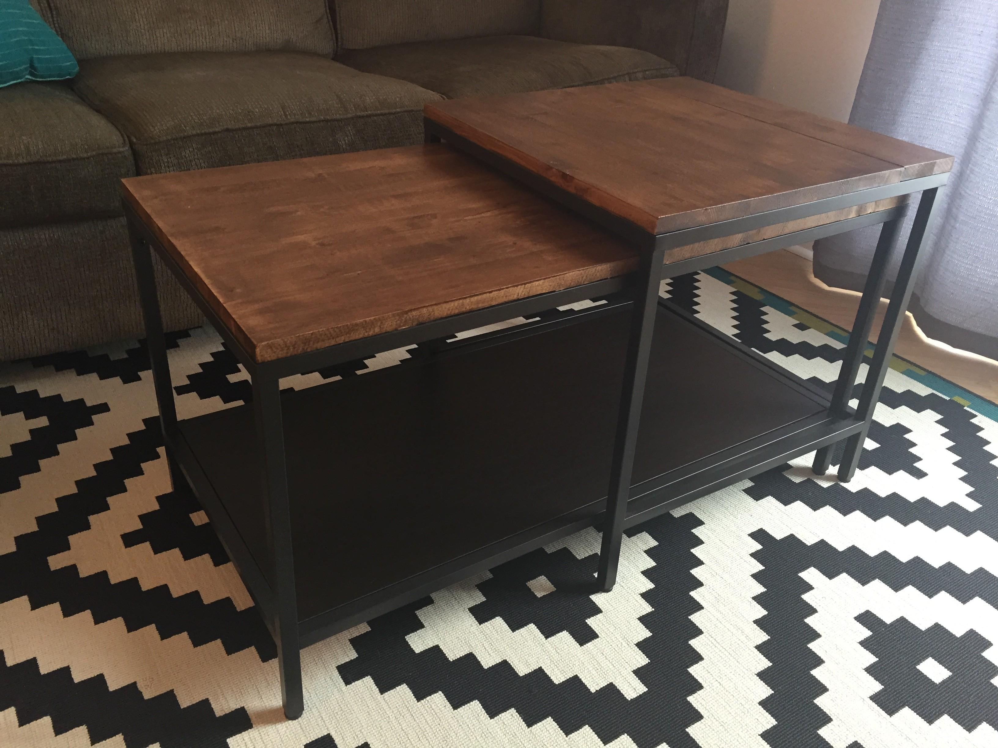 Coffee Table Hack Gimme Shelter