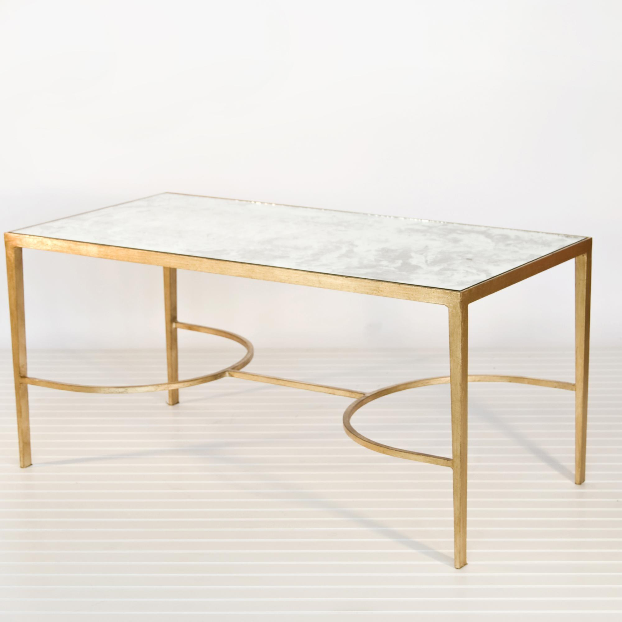 Coffee Table Marvelous Glass Gold