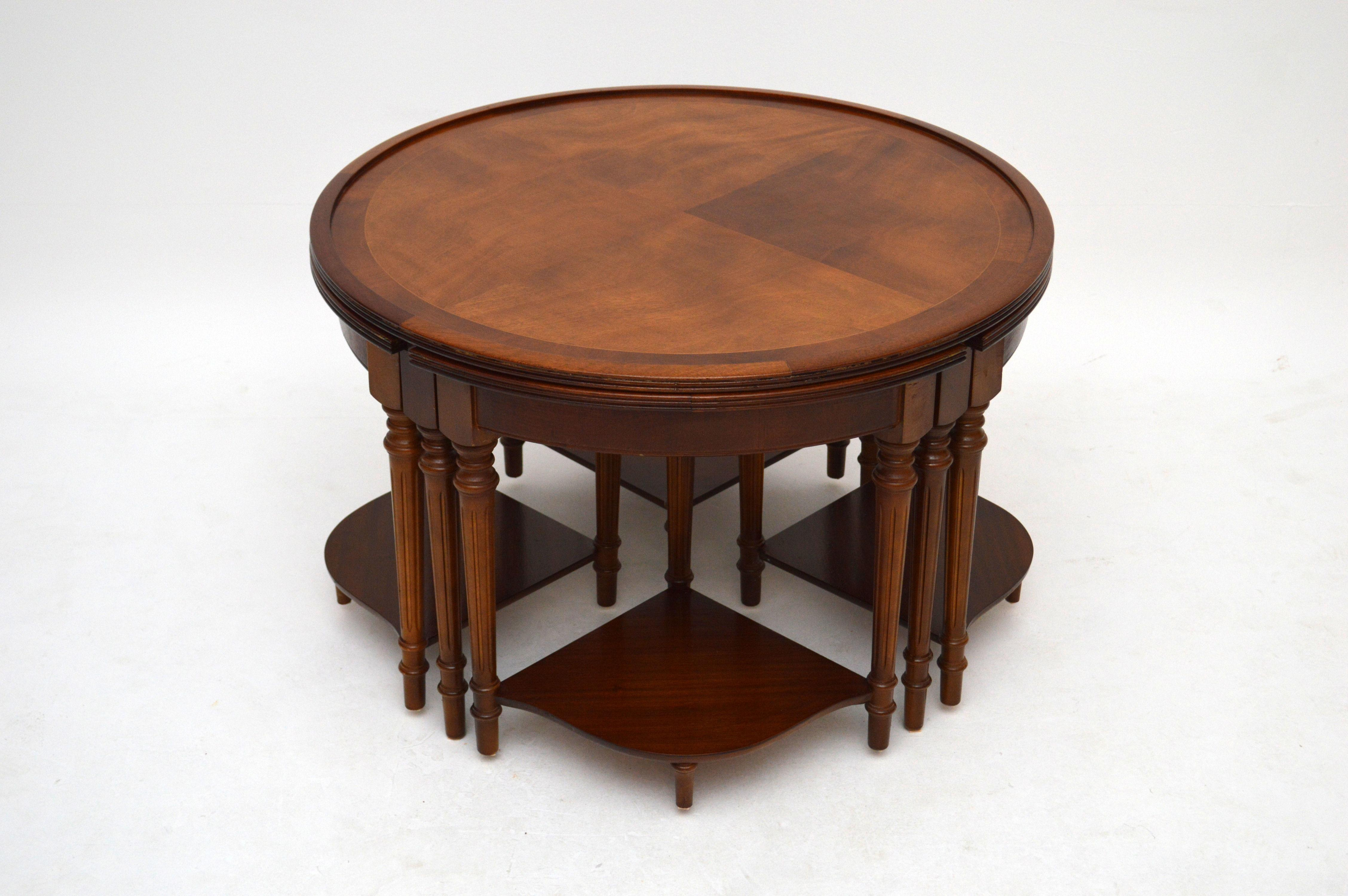 Coffee Table Nesting Tables Best Home Design 2018