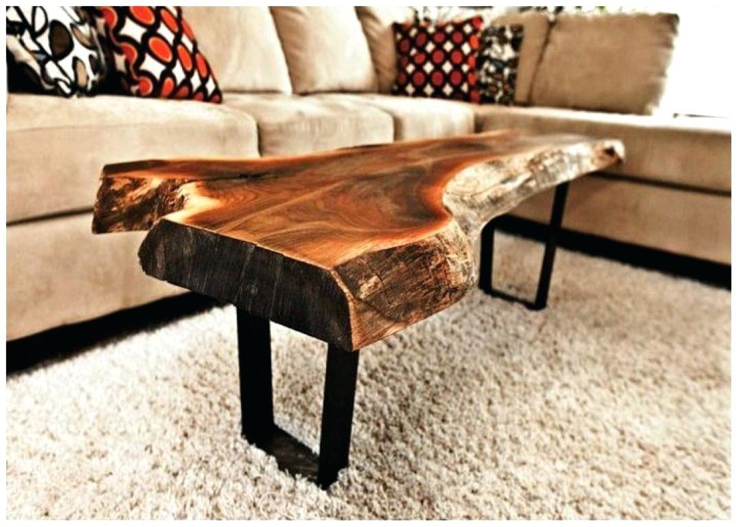 Coffee Table Reclaimed Wood Trunk Tablewood Stump