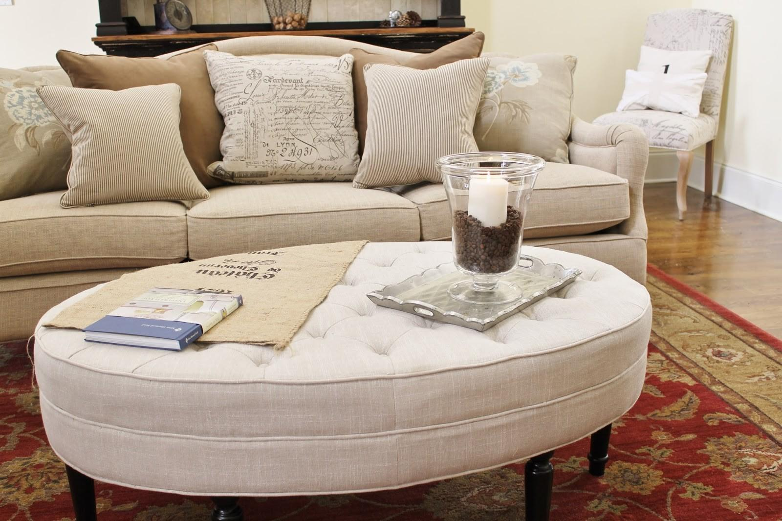 Coffee Table Tufted Ottoman Diy Overstock