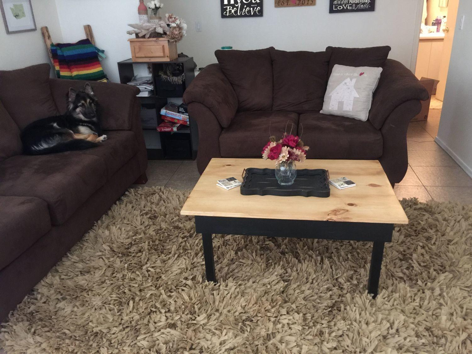 Coffee Table Woodworking Project