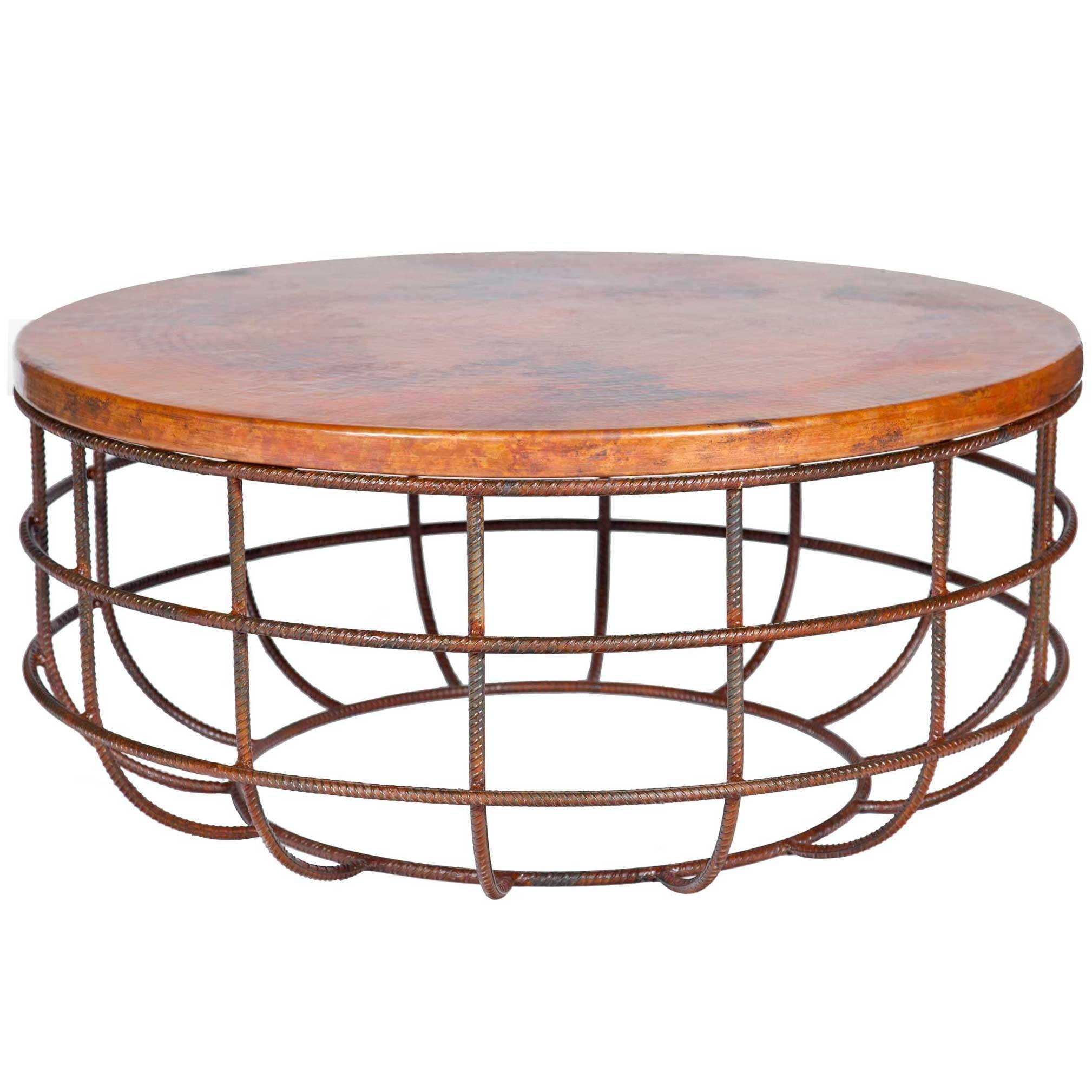 Coffee Tables Ideas Best Round Copper Table