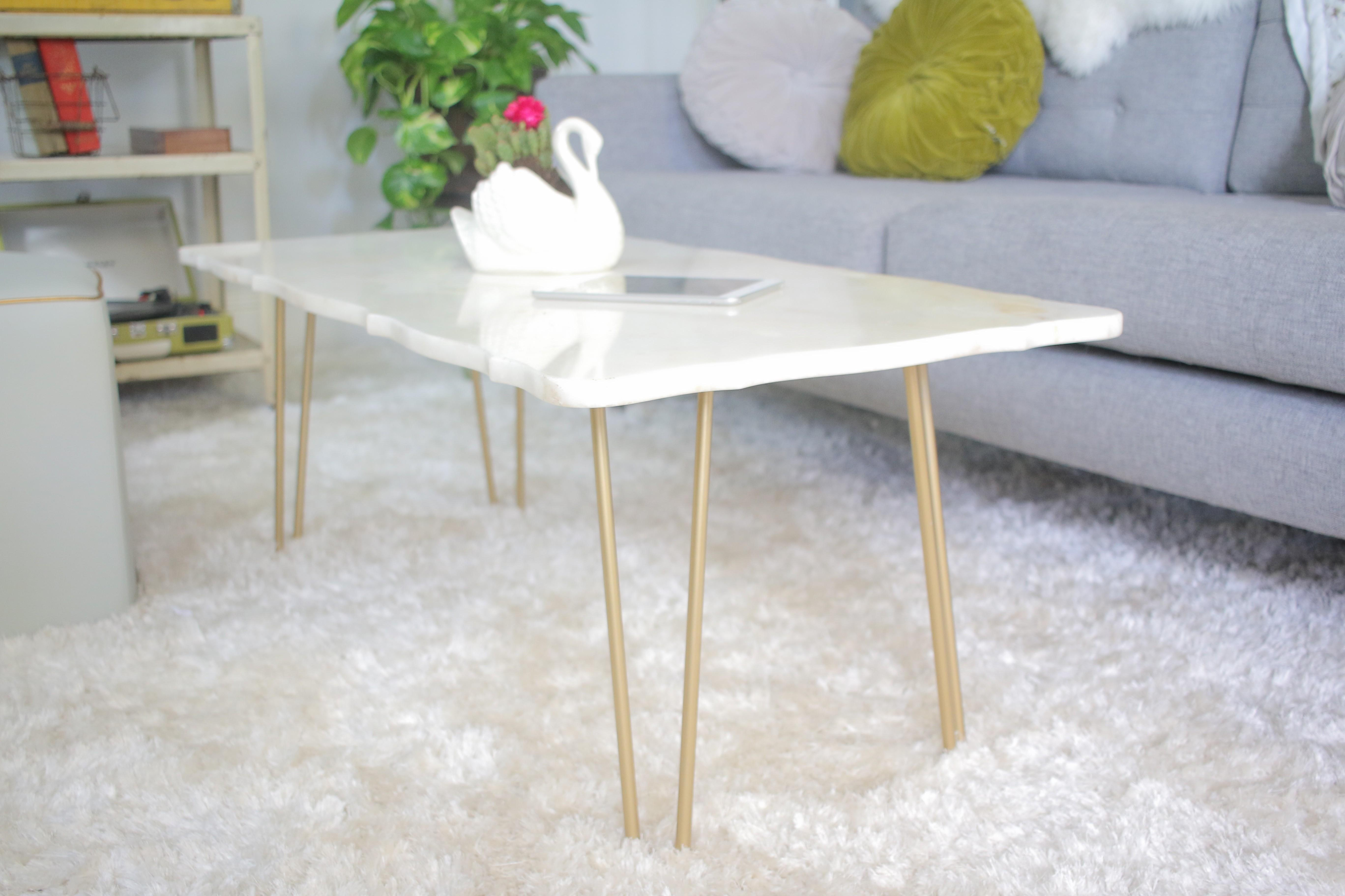 Coffee Tables Paint Marble Effect Wood