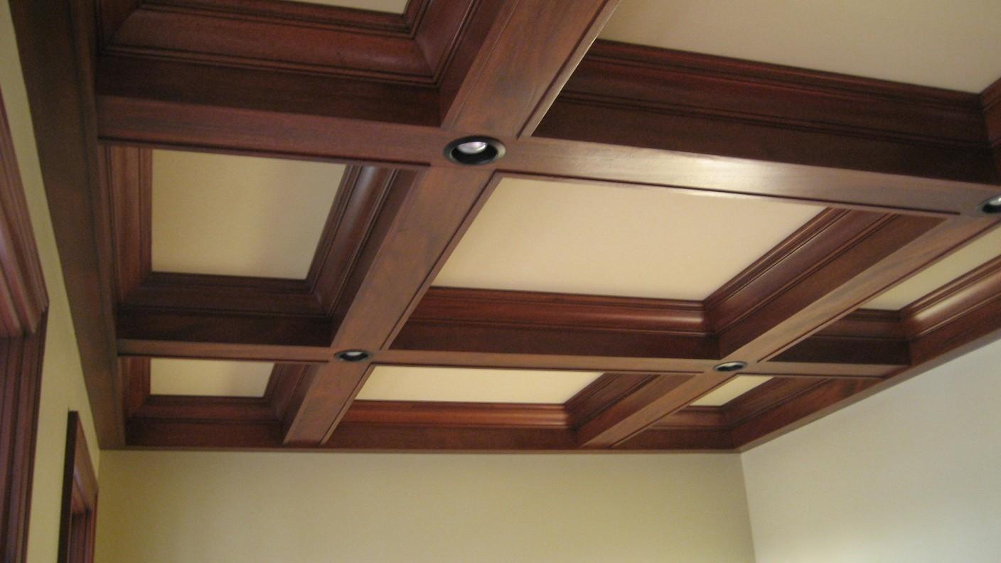 Coffered Ceiling Box Beam Ceilings