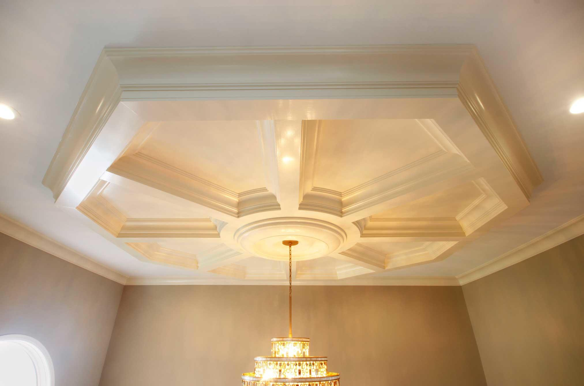 Coffered Ceiling System Easy Panel Treatments