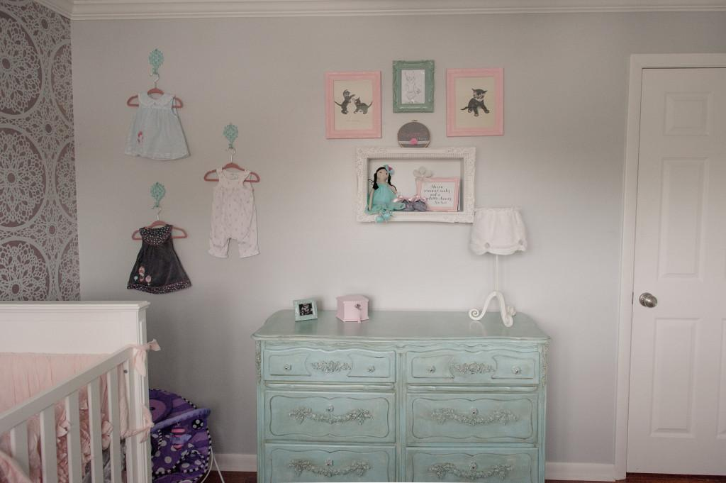 Colette Shabby Chic Feminine Nursery Project