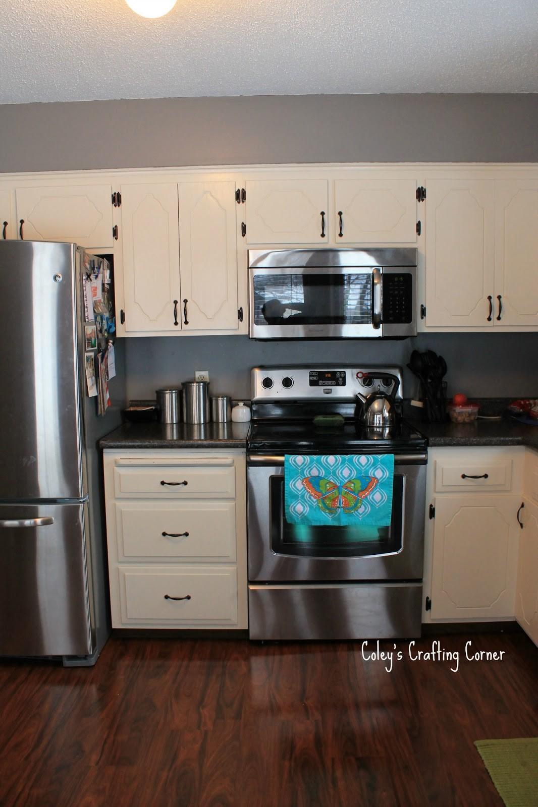 Coley Diy Crafting Corner Kitchen Upgrade