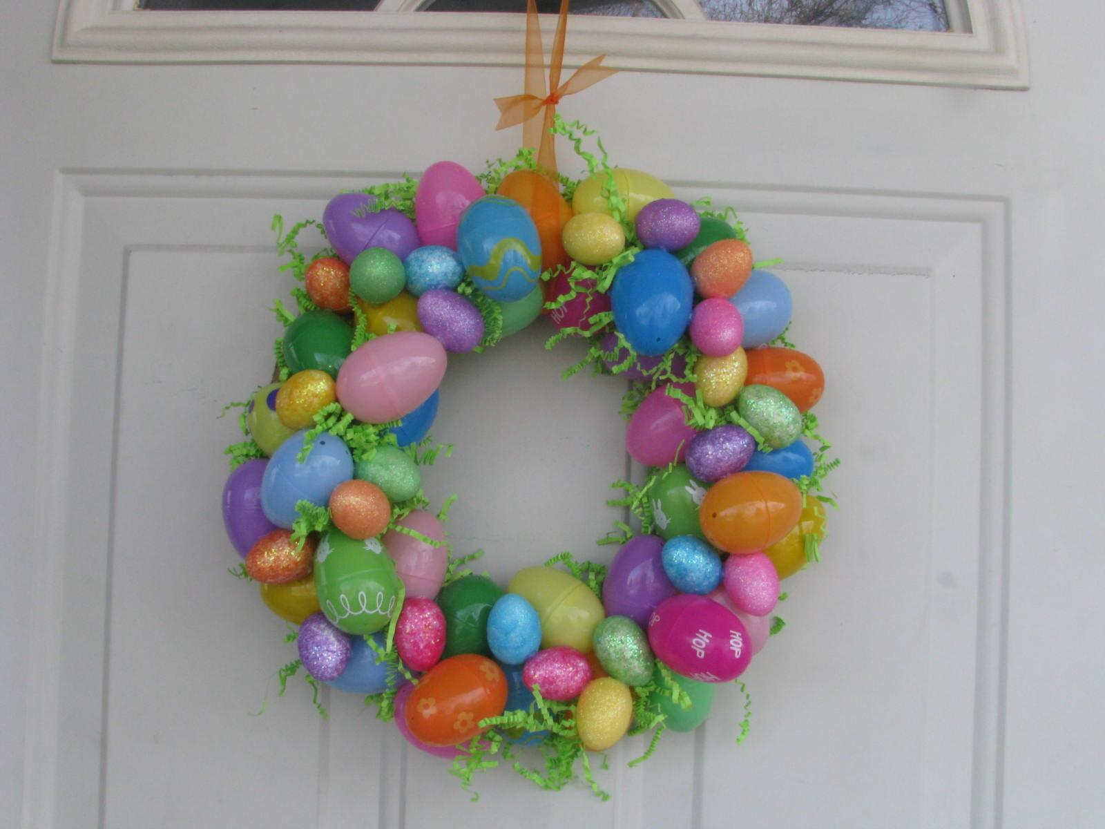 Collard Greens Homemade Things Easter Egg Wreath
