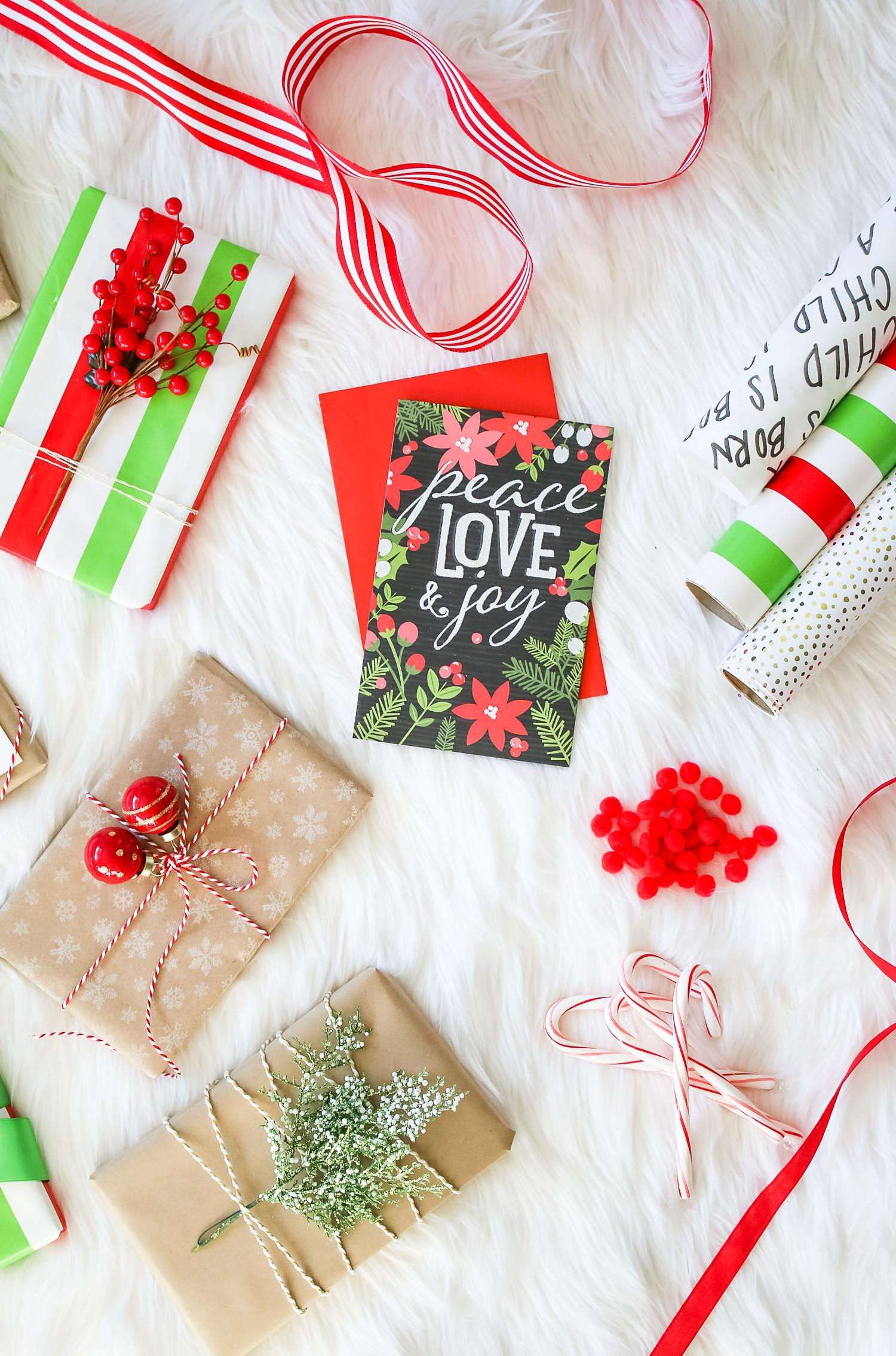 Collection Christmas Gift Wrapping Ideas