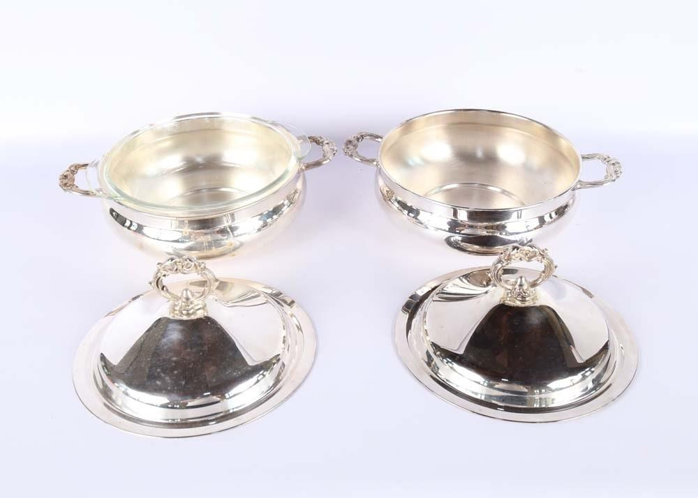 Collection Silver Plated Serving Pieces Ebth