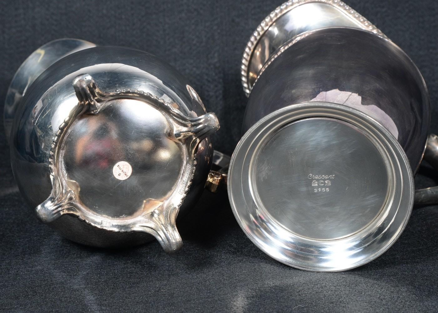 Collection Silverplate Serving Pieces Ebth