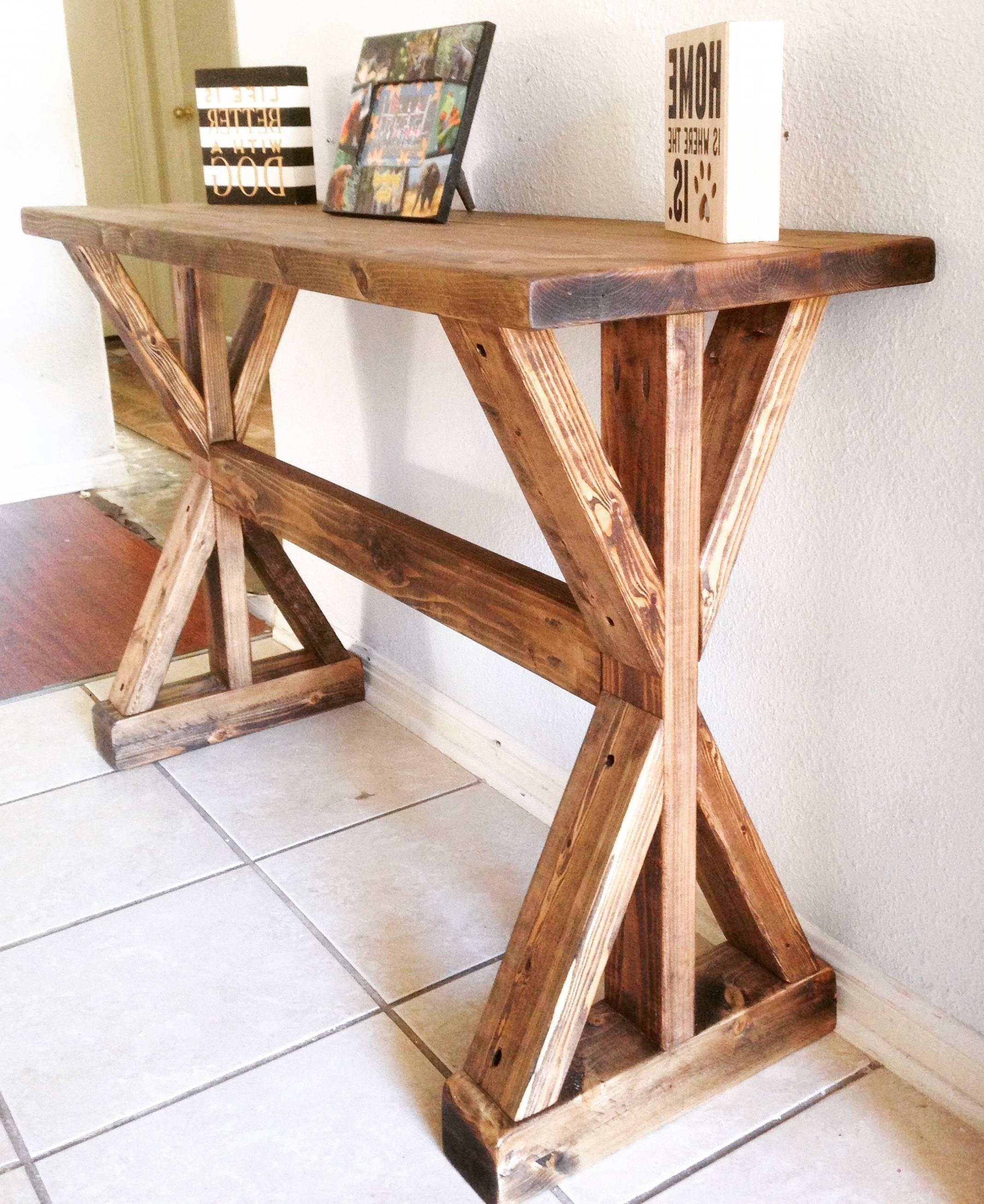 Collection White Entryway Table