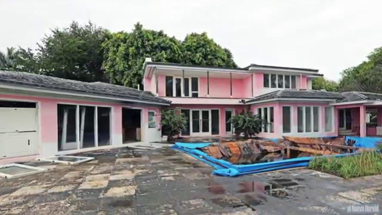 Colombian Drug Lord Pablo Escobar Old House Miami