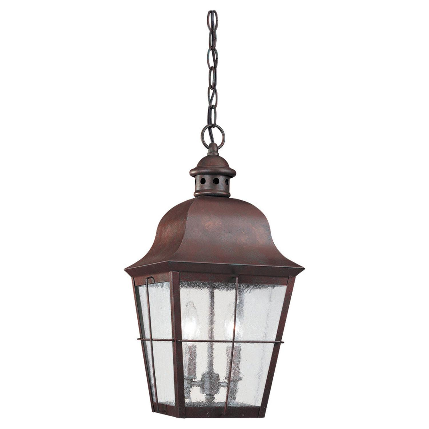 Colonial Copper Outdoor Hanging Lantern Sea Gull Lighting