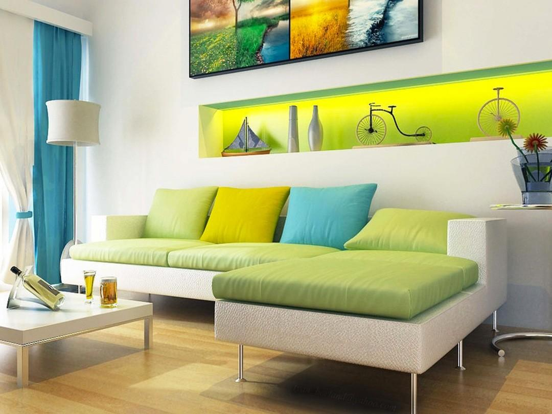 Color Blocking Interiors Interior Design