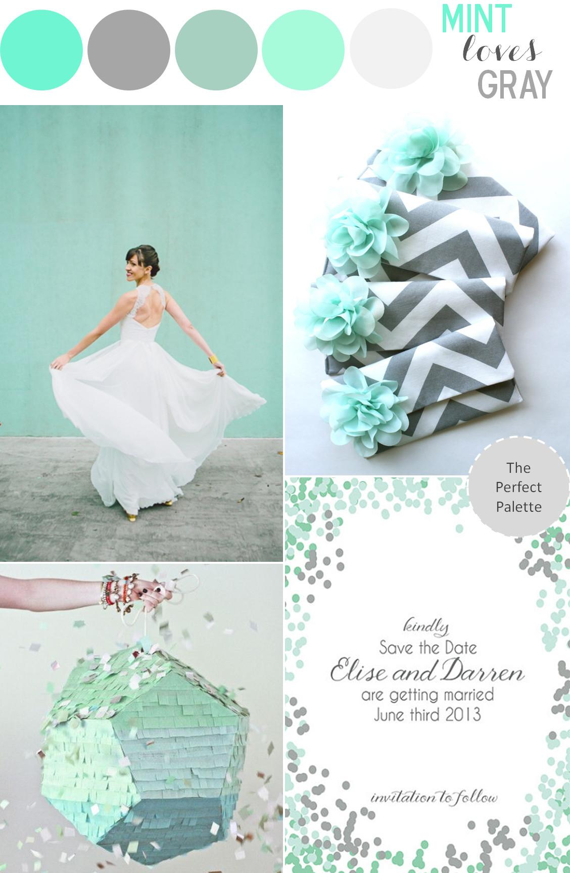 Color Story Mint Loves Gray Perfect Palette