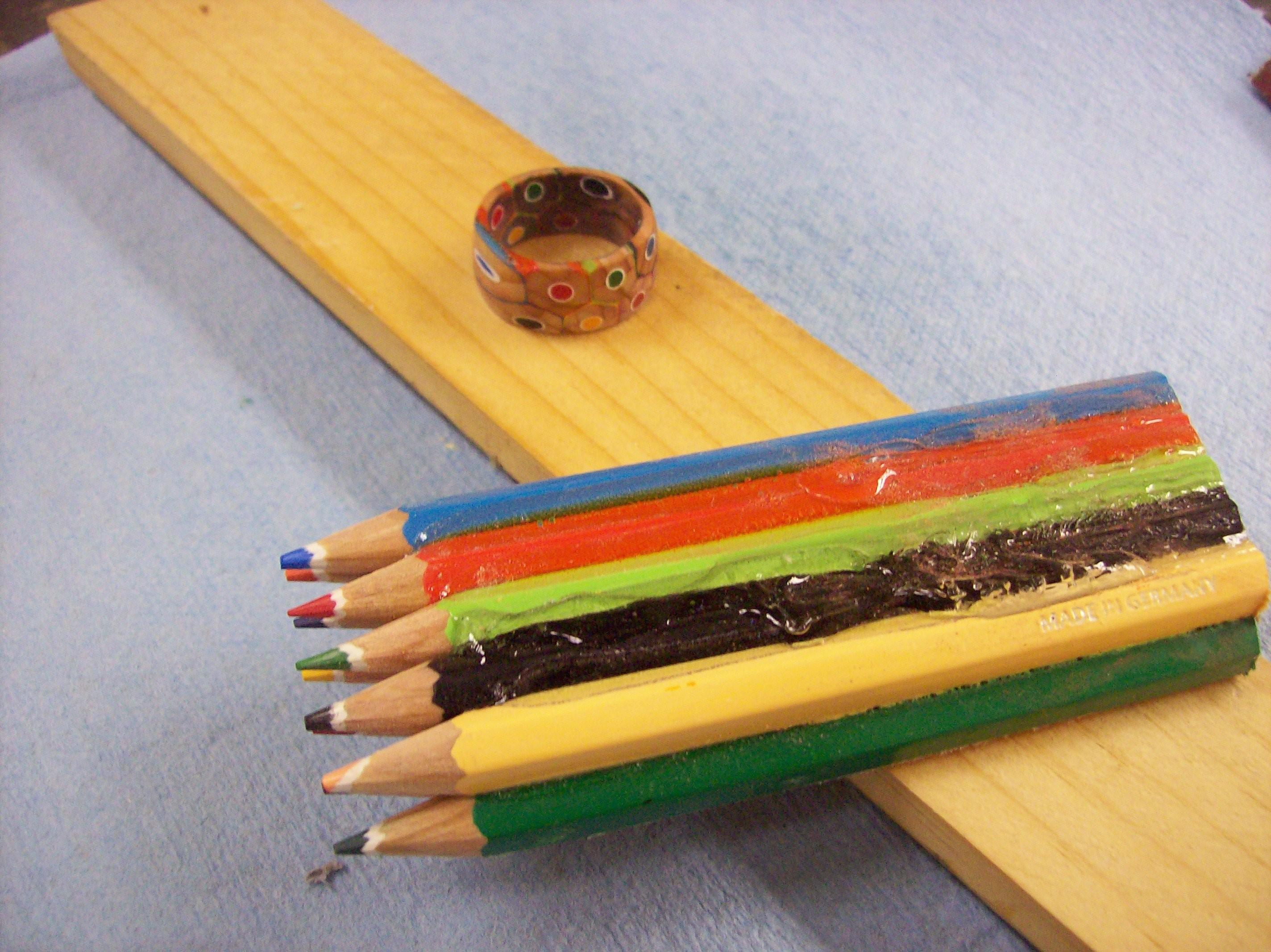 Colored Pencils Become Unique Jewelry Make Diy Projects