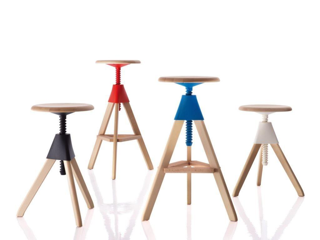 Colorful Bar Stools Your Family Kitchen