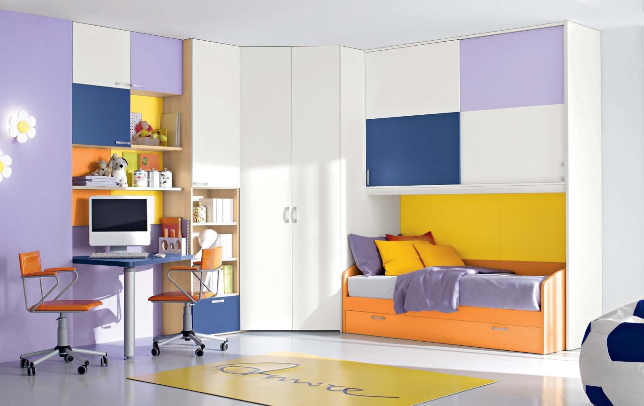 Colorful Bedroom Stylehomes