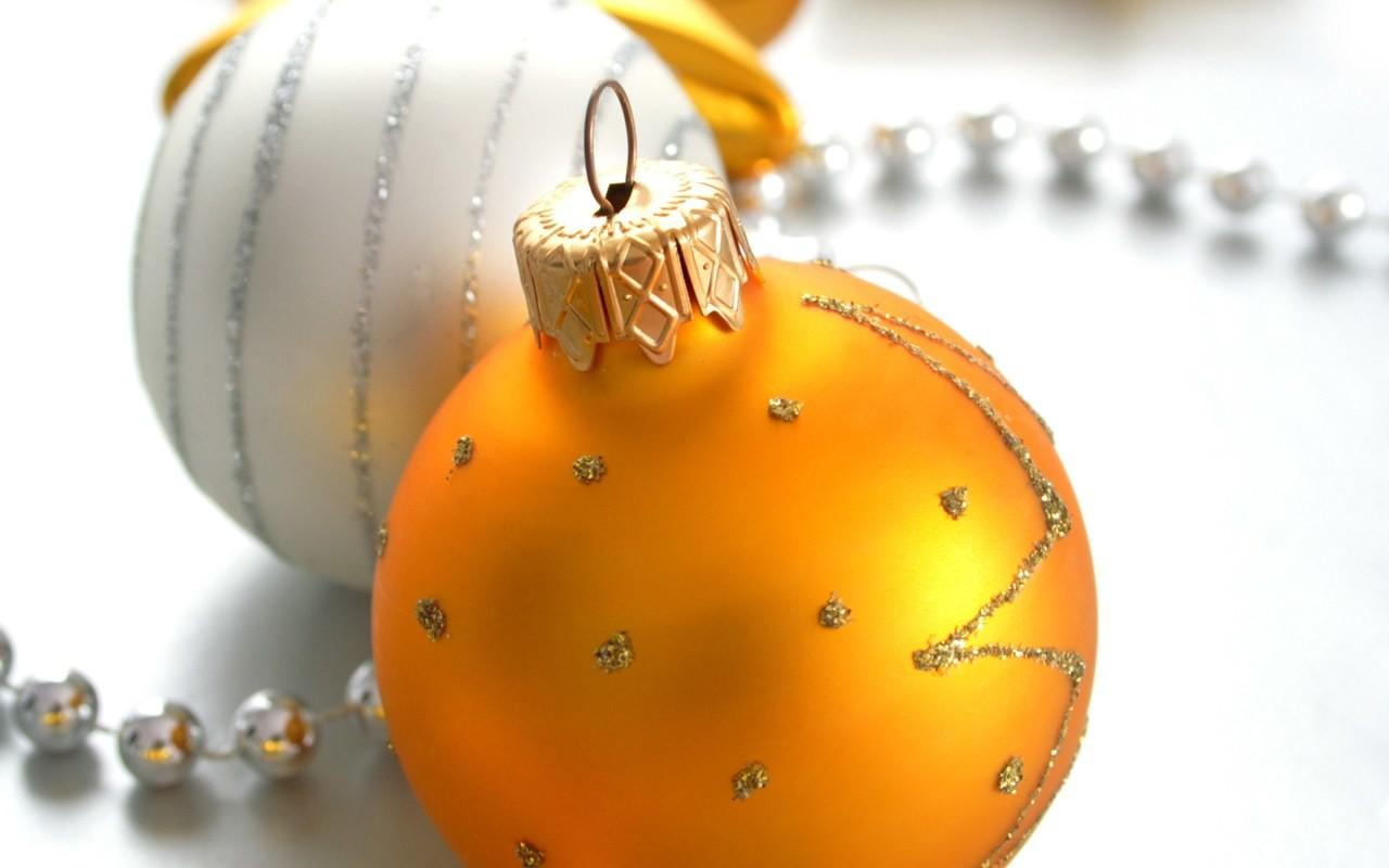 Colorful Christmas Balls Baubles