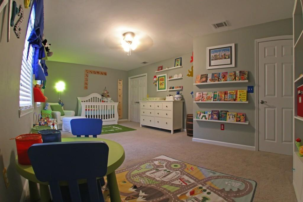 Colorful Disney Toy Story Inspired Nursery Play