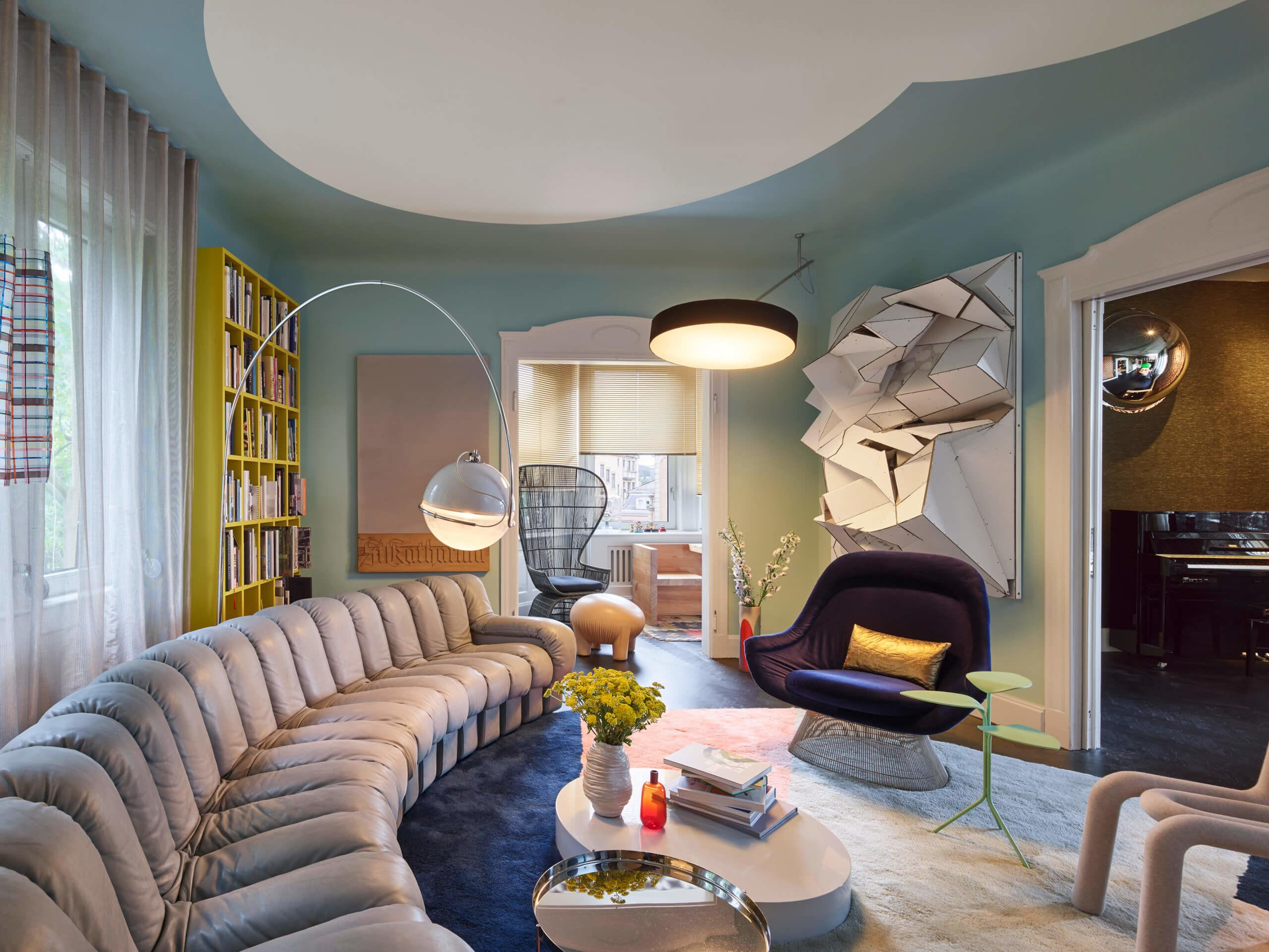 Colorful Eclectic Interior Design Collage Travels