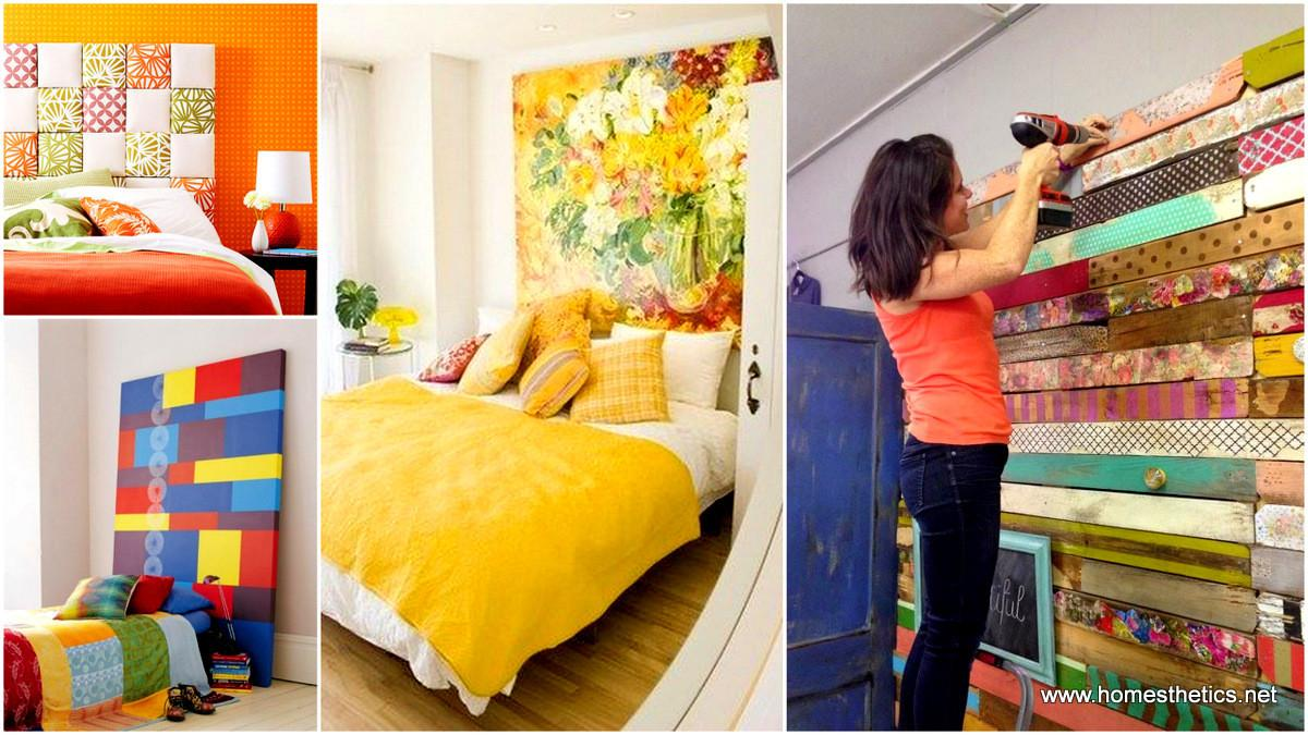 Colorful Headboard Designs Beautify Your