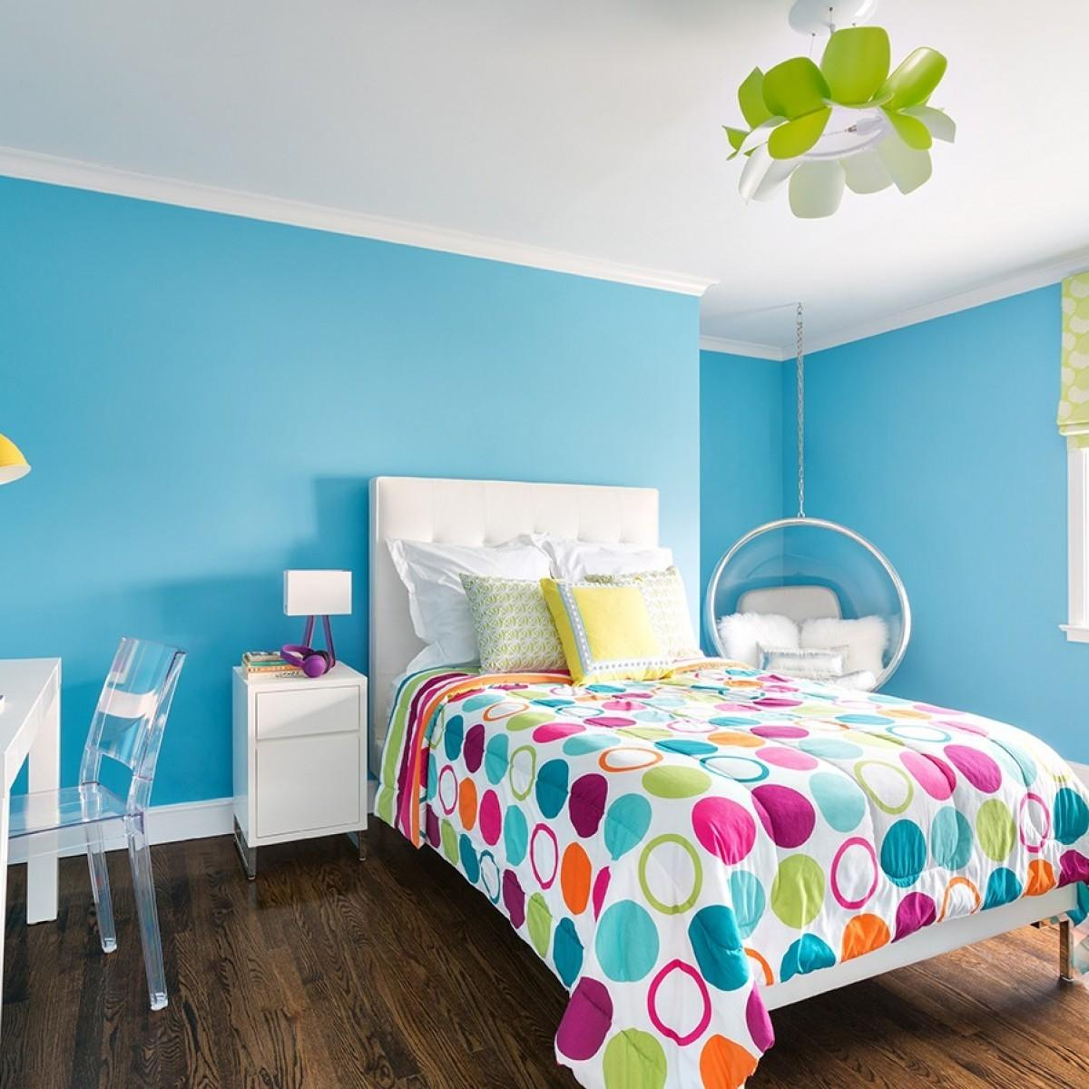 Colorful Ideas Painting Teen Bedrooms Decorspot