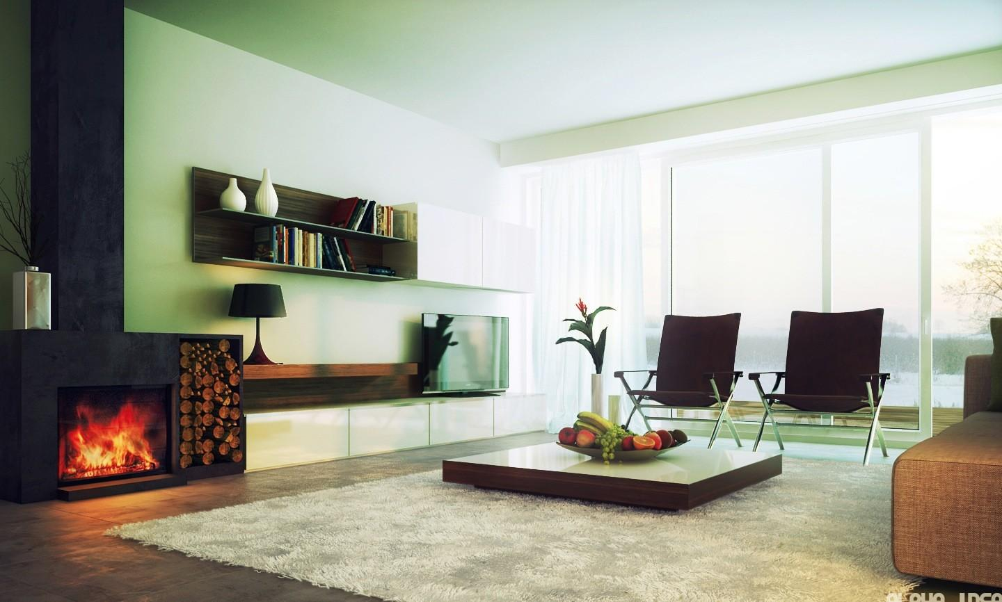 Colorful Living Room Designs 2012 Modern Neutral
