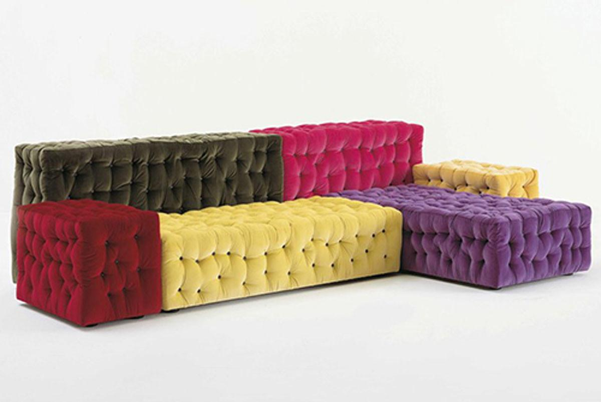 Colorful Modular Sectional Sofas Appealing