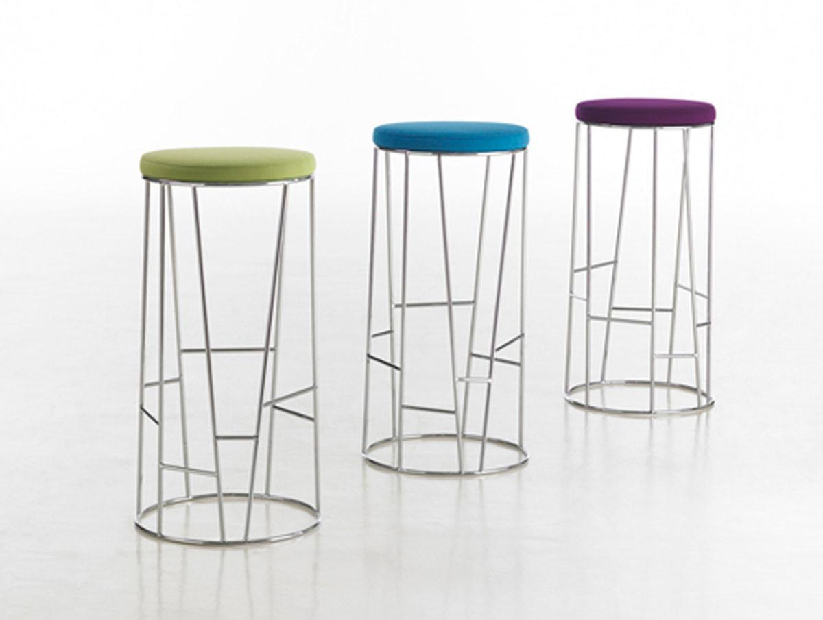 Colorful Seat Side Bar Stool Iroonie