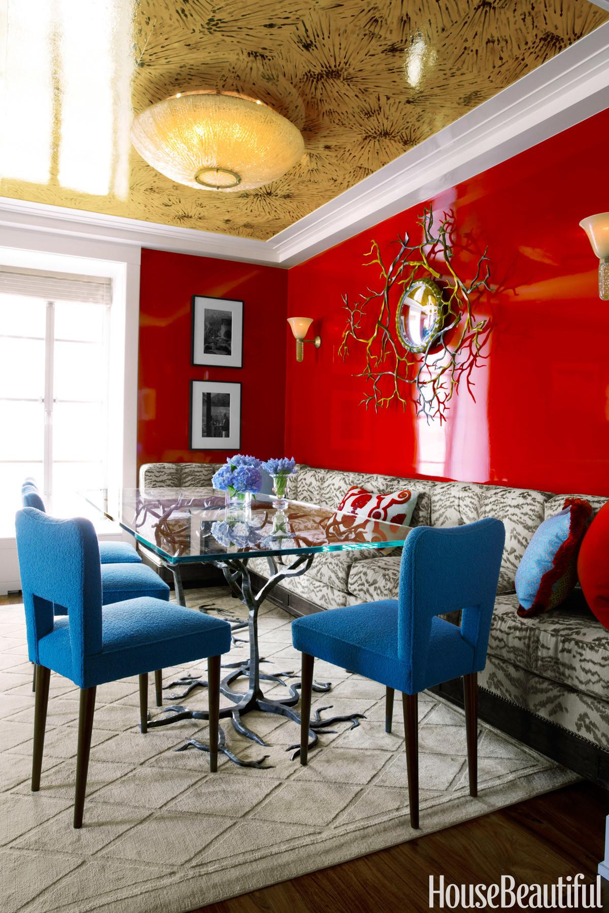 Colorful Small Apartment Space Color Ideas