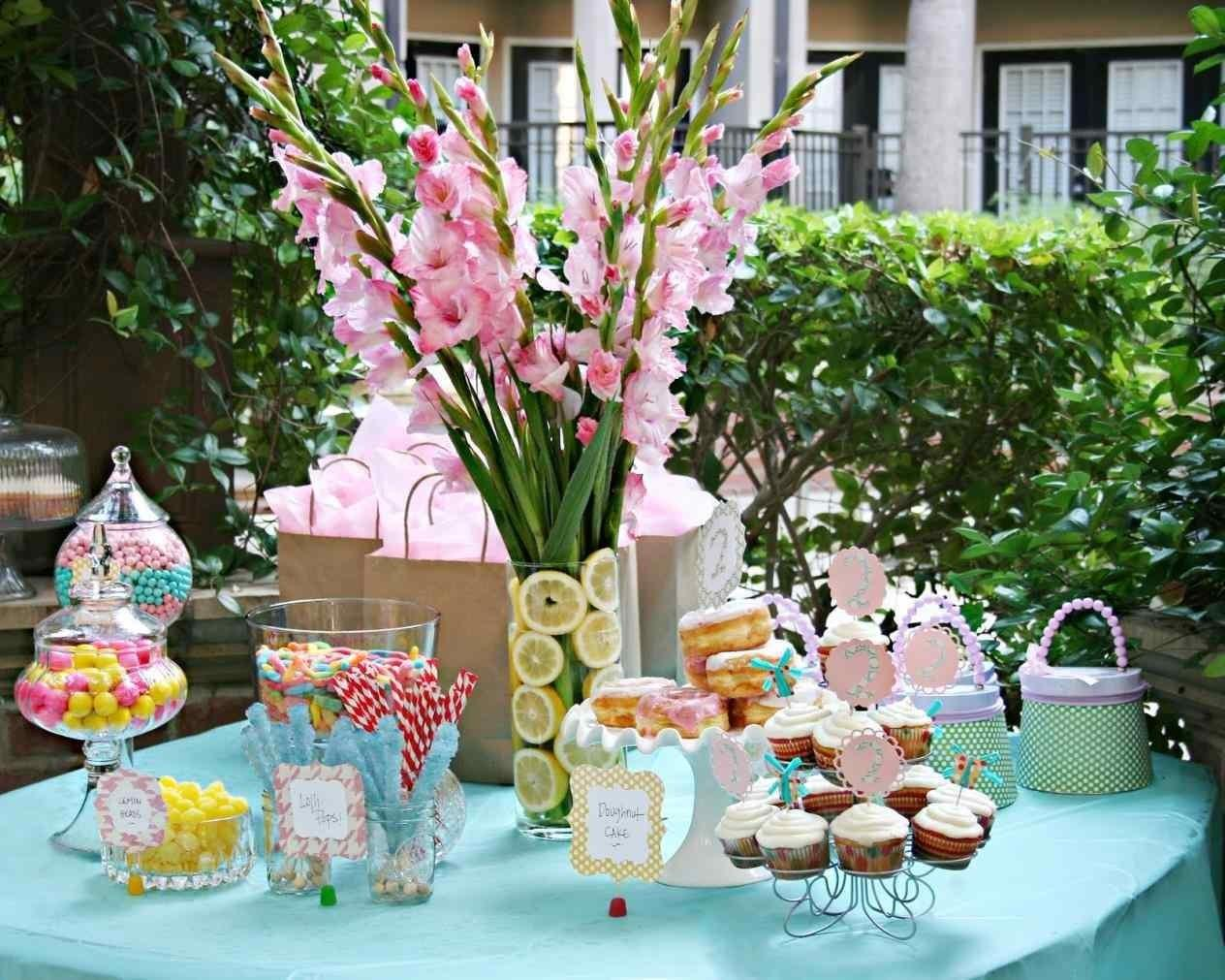 Colorful Sweet Party Themes Summer Tablecloths