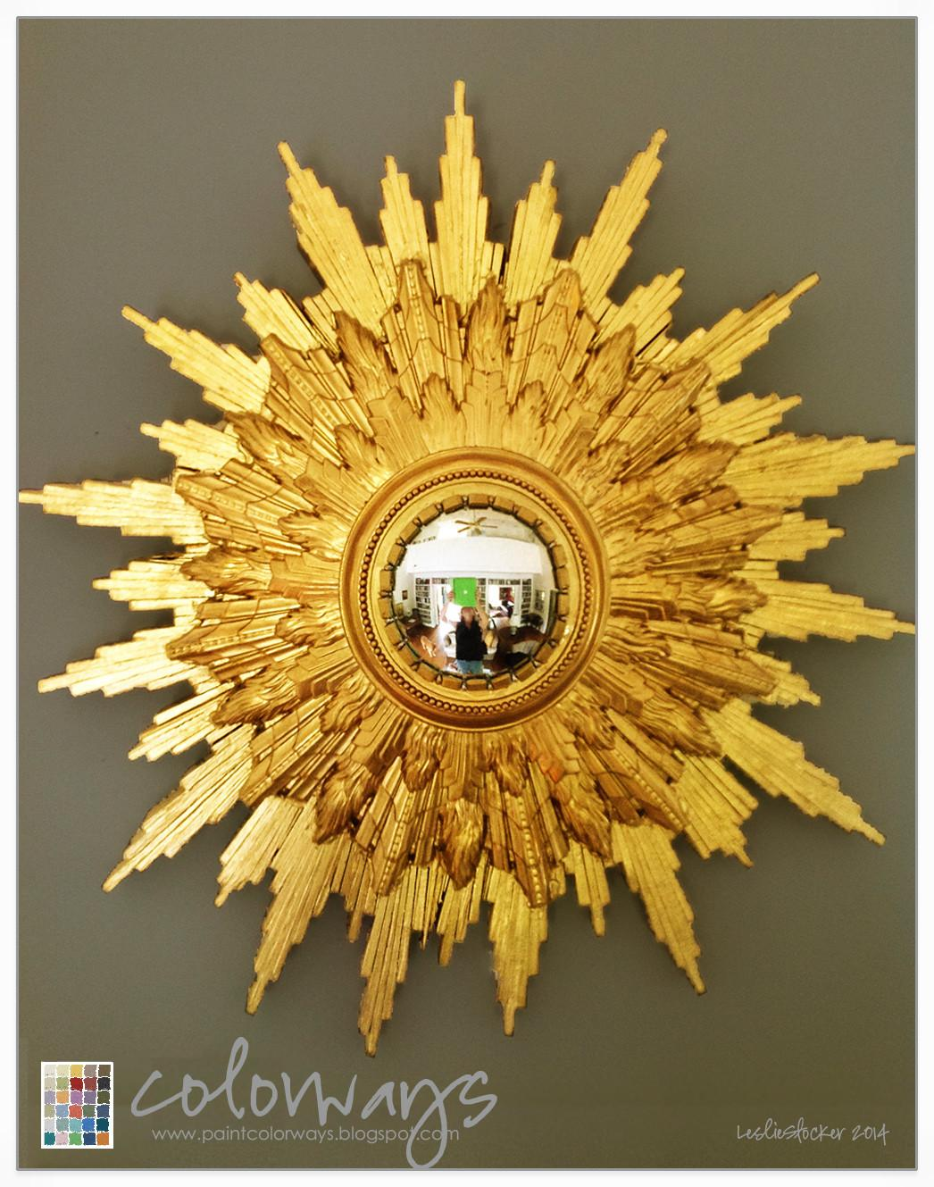 Colorways Diy Sunburst Mirror