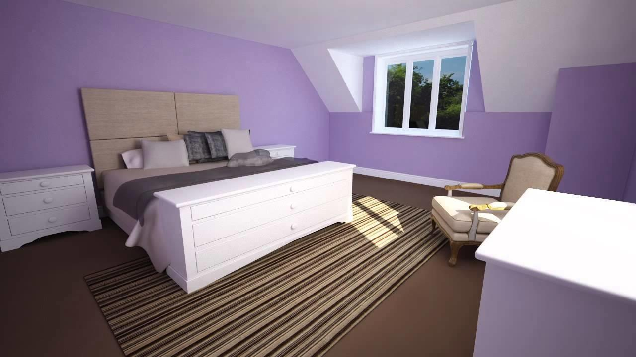 Colour Schemes Create Calm Relaxing Bedroom