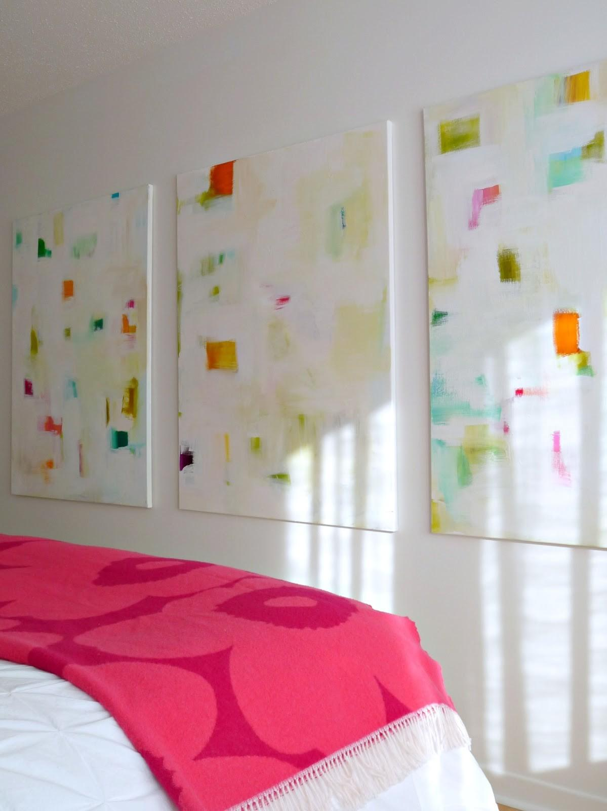 Colourful Diy Abstracts Make Your Own Art Dans