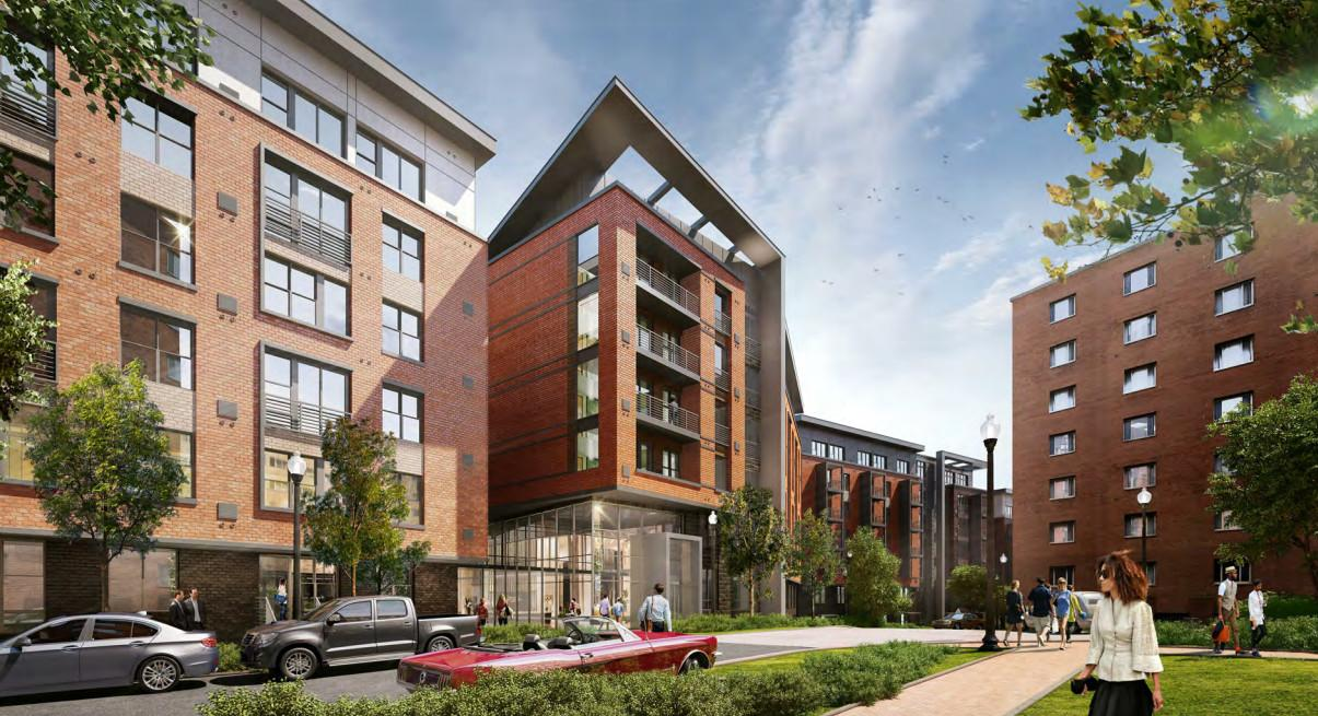 Columbia Pike Parking Lot Replaced Apartment