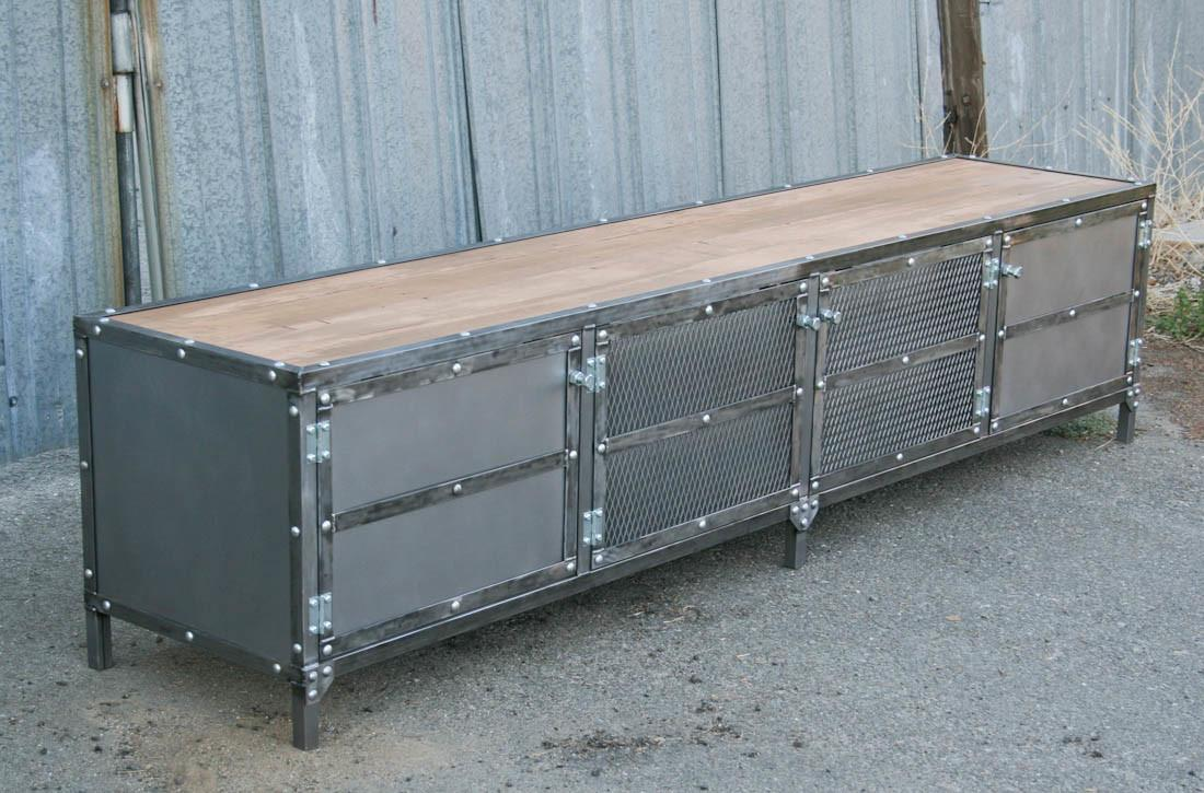 Combine Industrial Furniture Modern Console