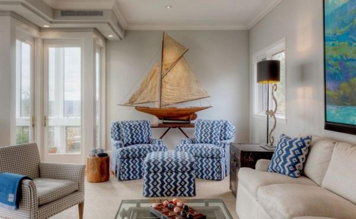 Combining Some Nautical Decor Elements Ship