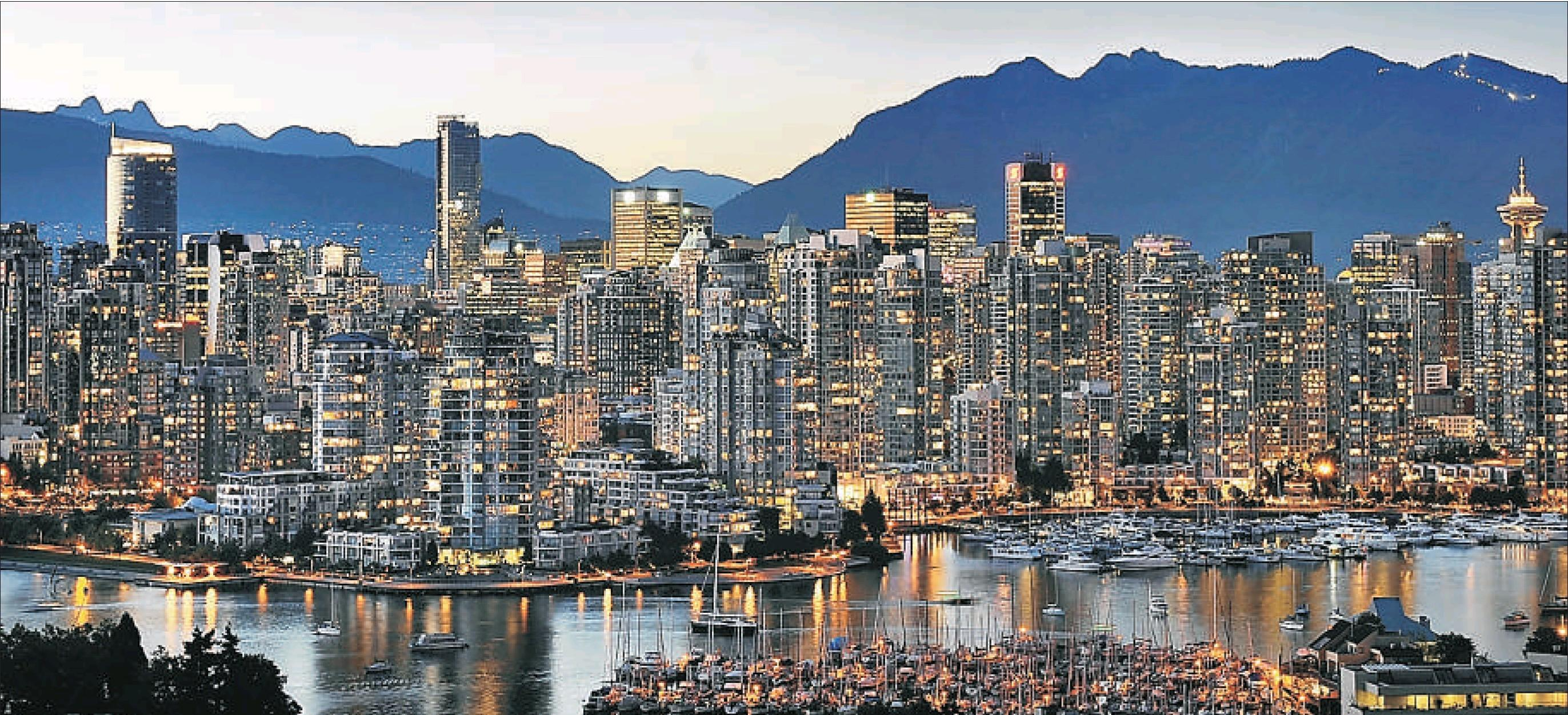 Come Vancouver Has Many High Rises Tall Buildings