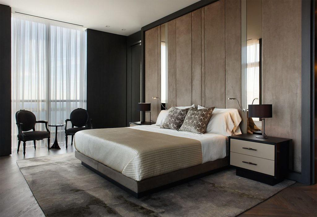 Comfortable Masculine Bedrooms Have Check