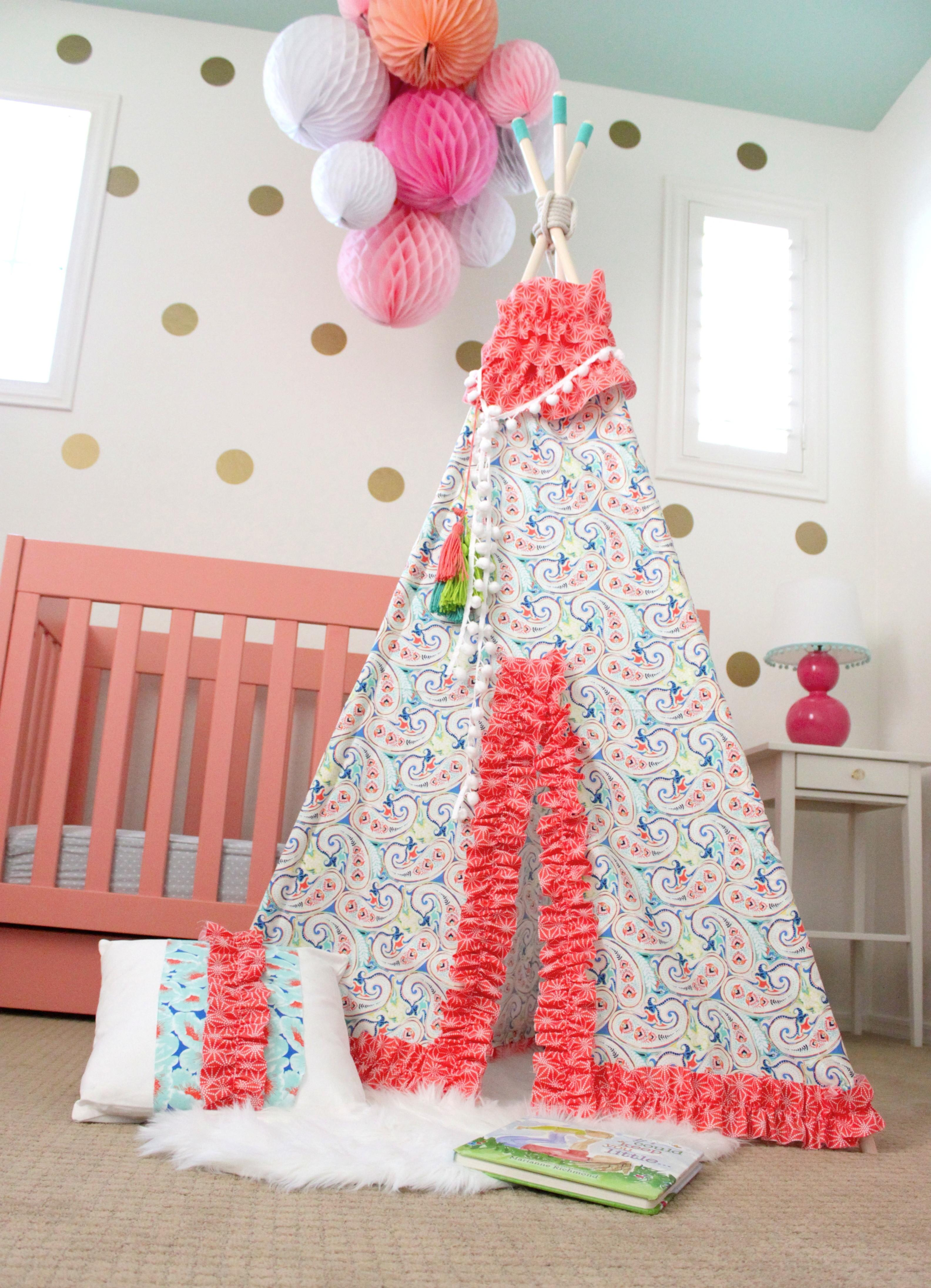 Comment Sweetest Diy Teepee Ever Seen All