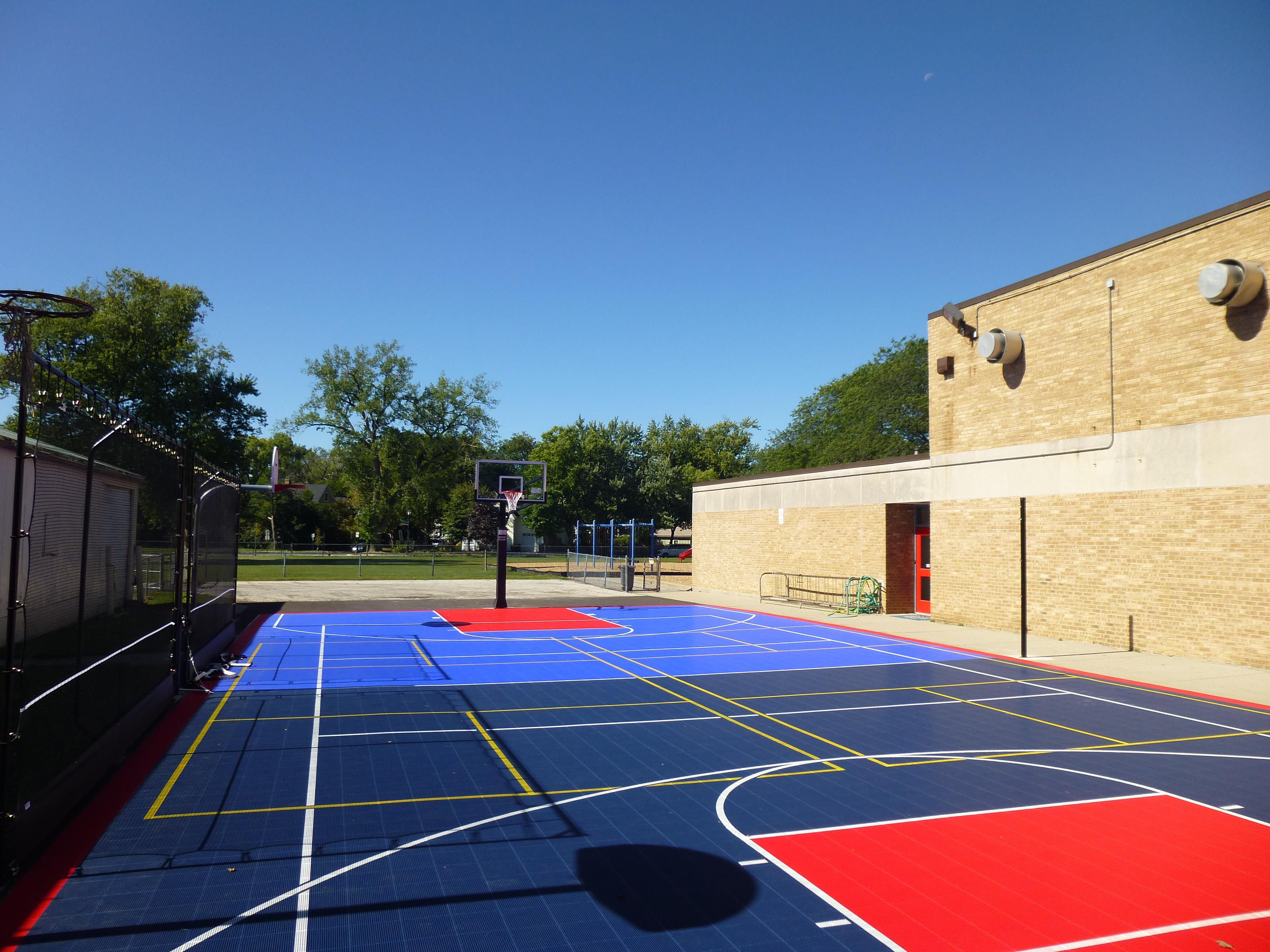 Commercial Modular Court Surfaces Outdoor Applications
