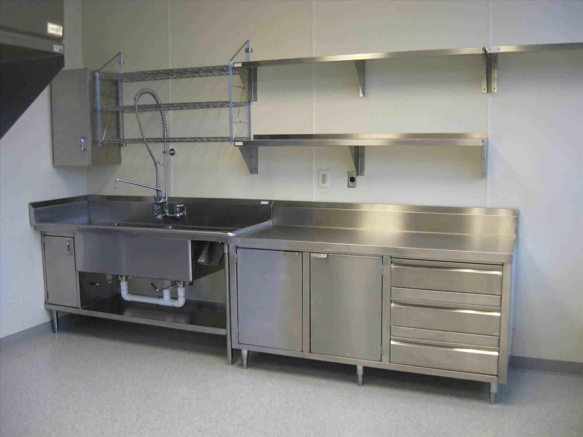 Commercial Stainless Steel Kitchen Island Temasistemi